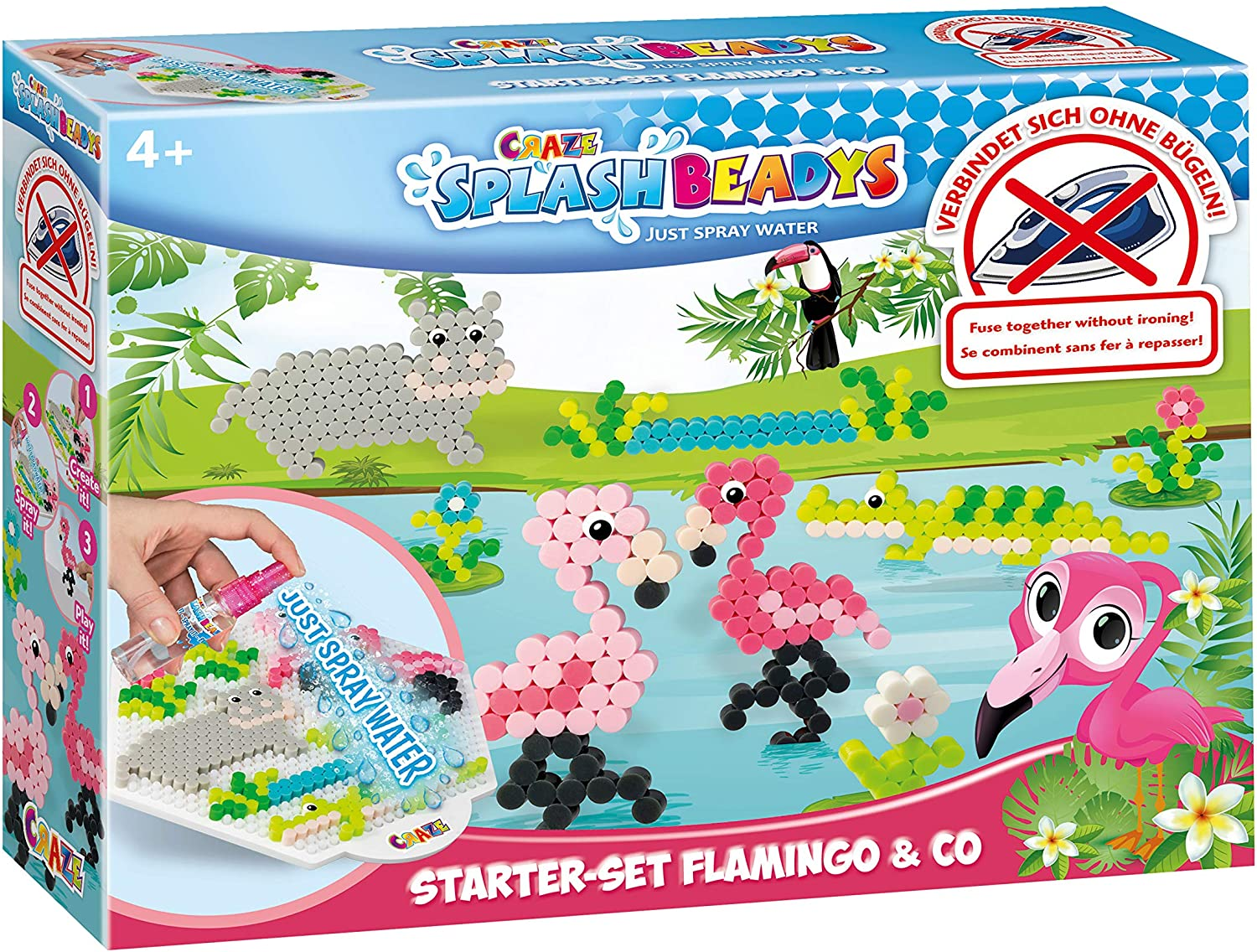 SPLASH BEADYS Flamingo & Co Starter-Set