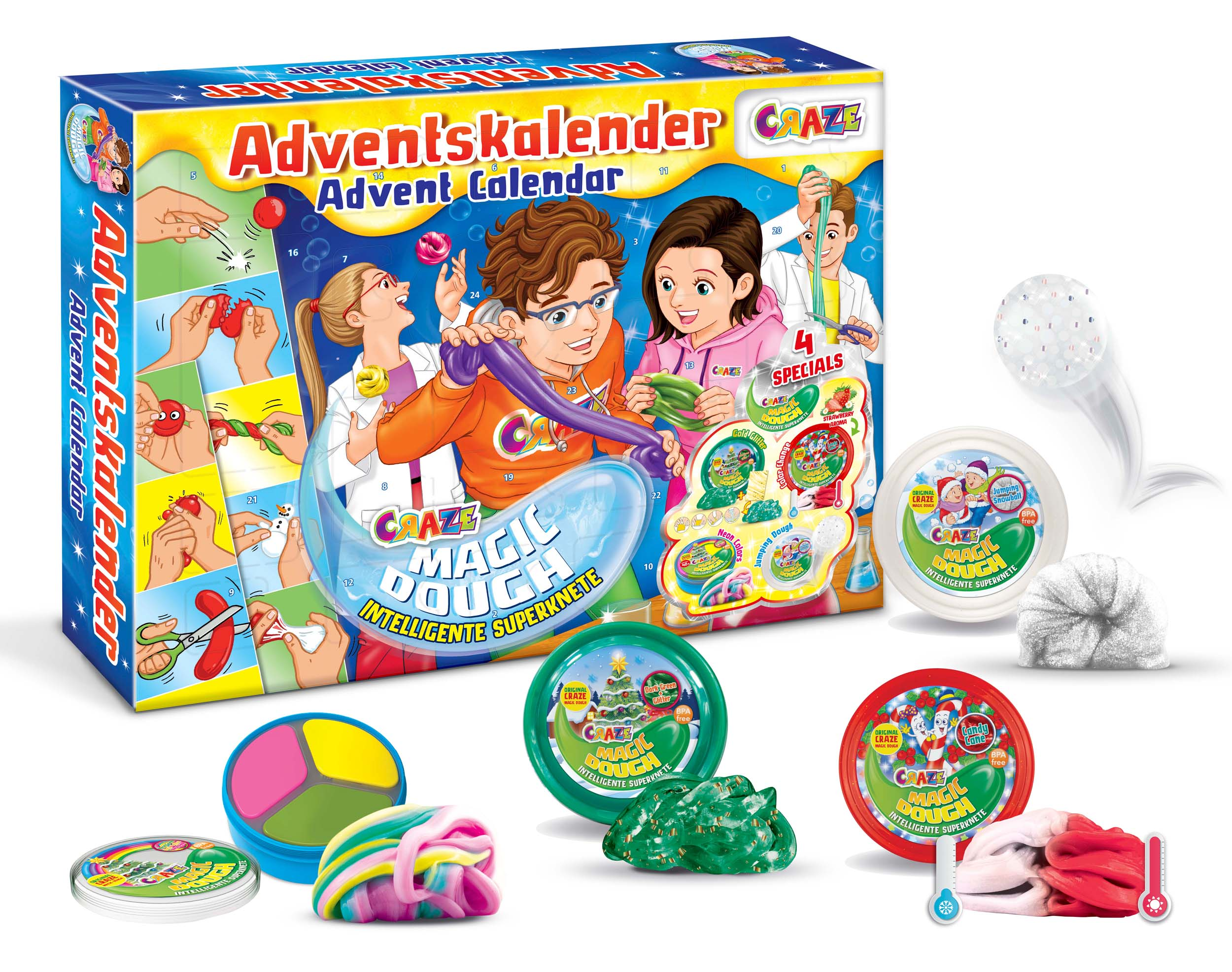 MAGIC DOUGH Adventskalender