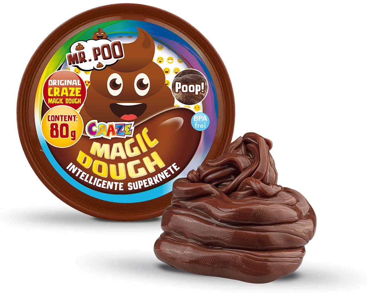 MAGIC DOUGH Intelligente Superknete - Mr. Poo 80g