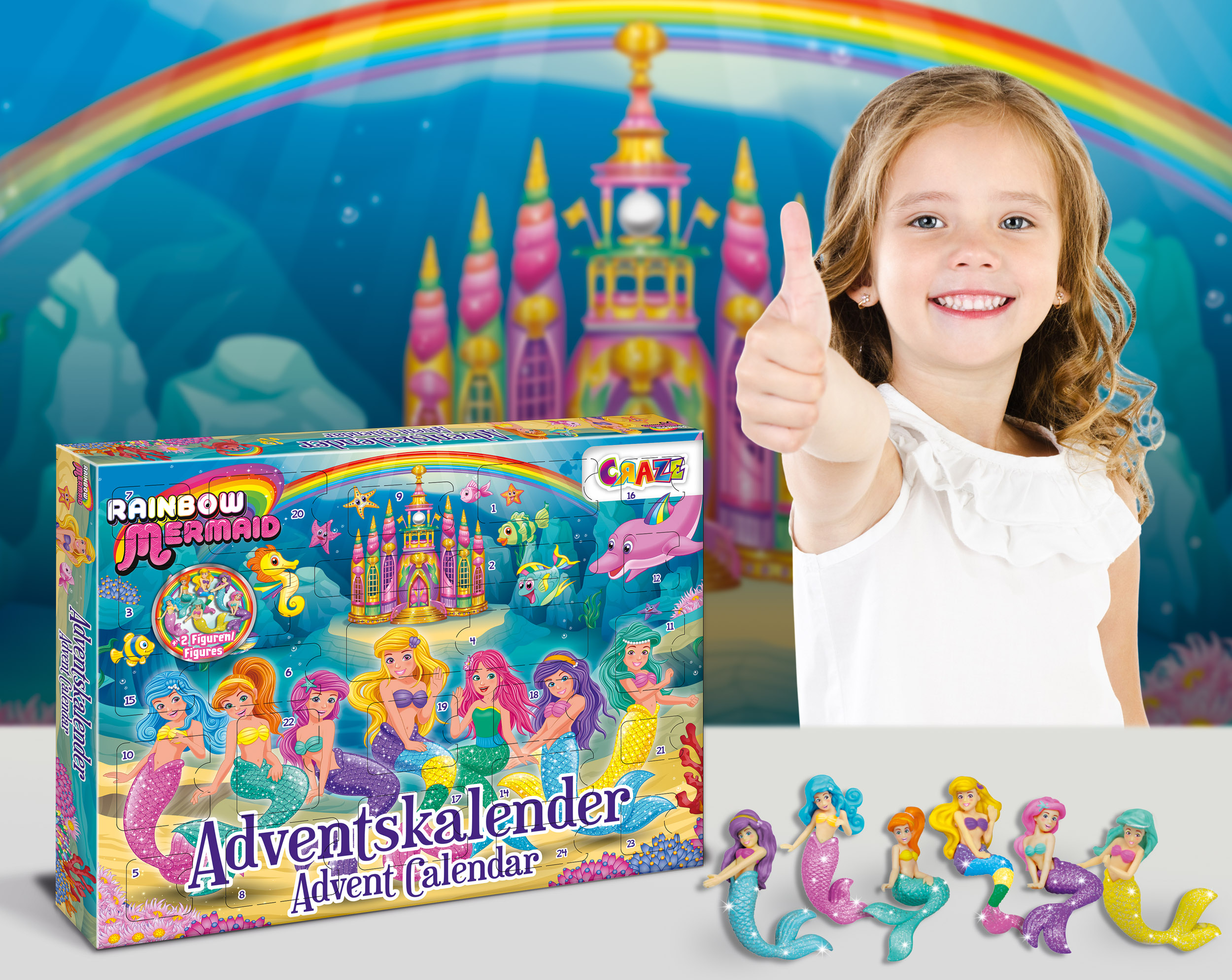 RAINBOW MERMAID Adventskalender