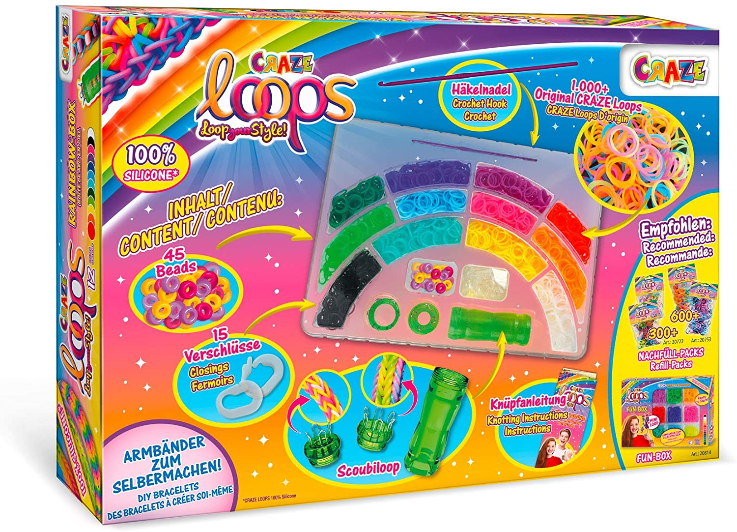 LOOPS Rainbow Box