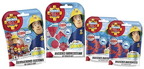 FIREMAN SAM Inkee Bade-Set