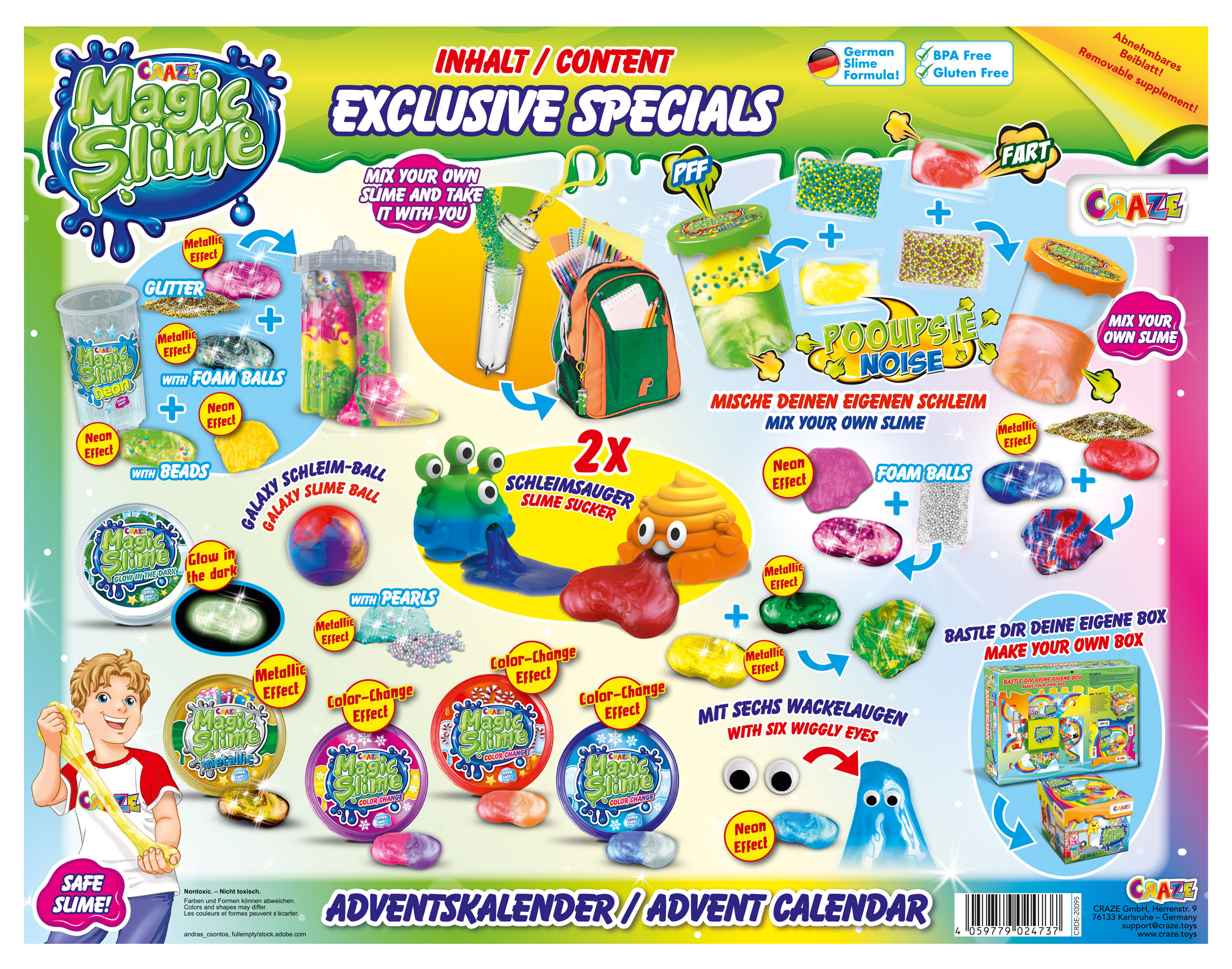 MAGIC SLIME Adventskalender